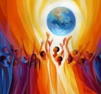 women-singing-earth